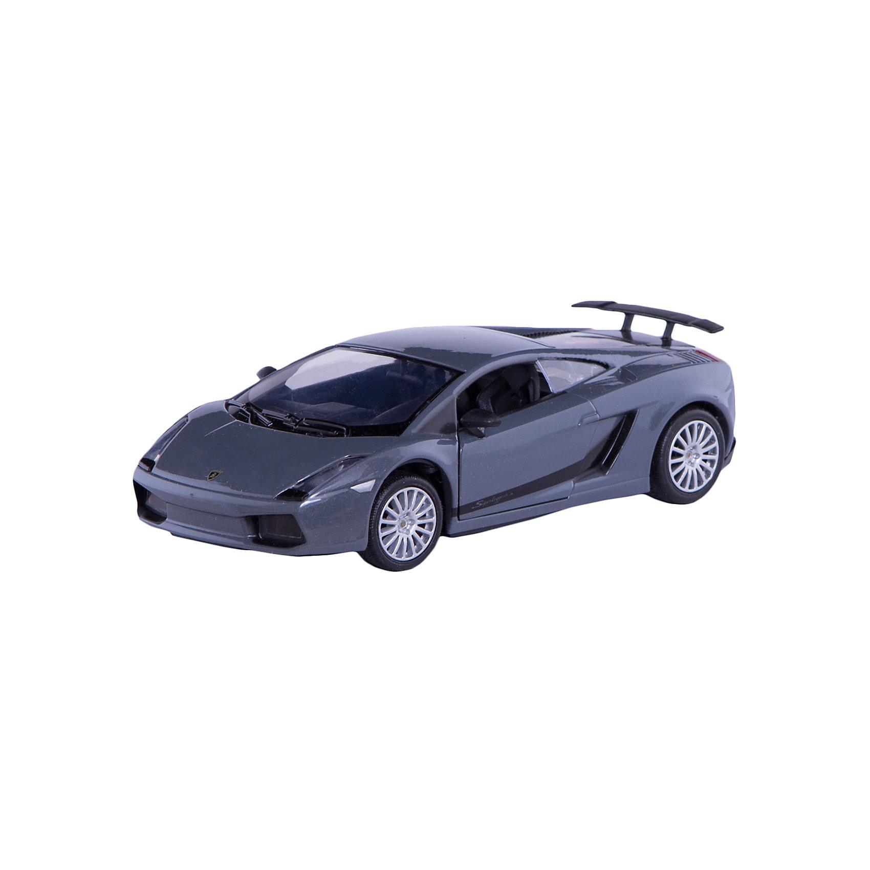 - Машина LAMBORGHINI GALLARDO SUPERLEGGERA, 1:24, в ассортименте машины motormax модель автомобиля lamborghini gallardo масштаб 1 60
