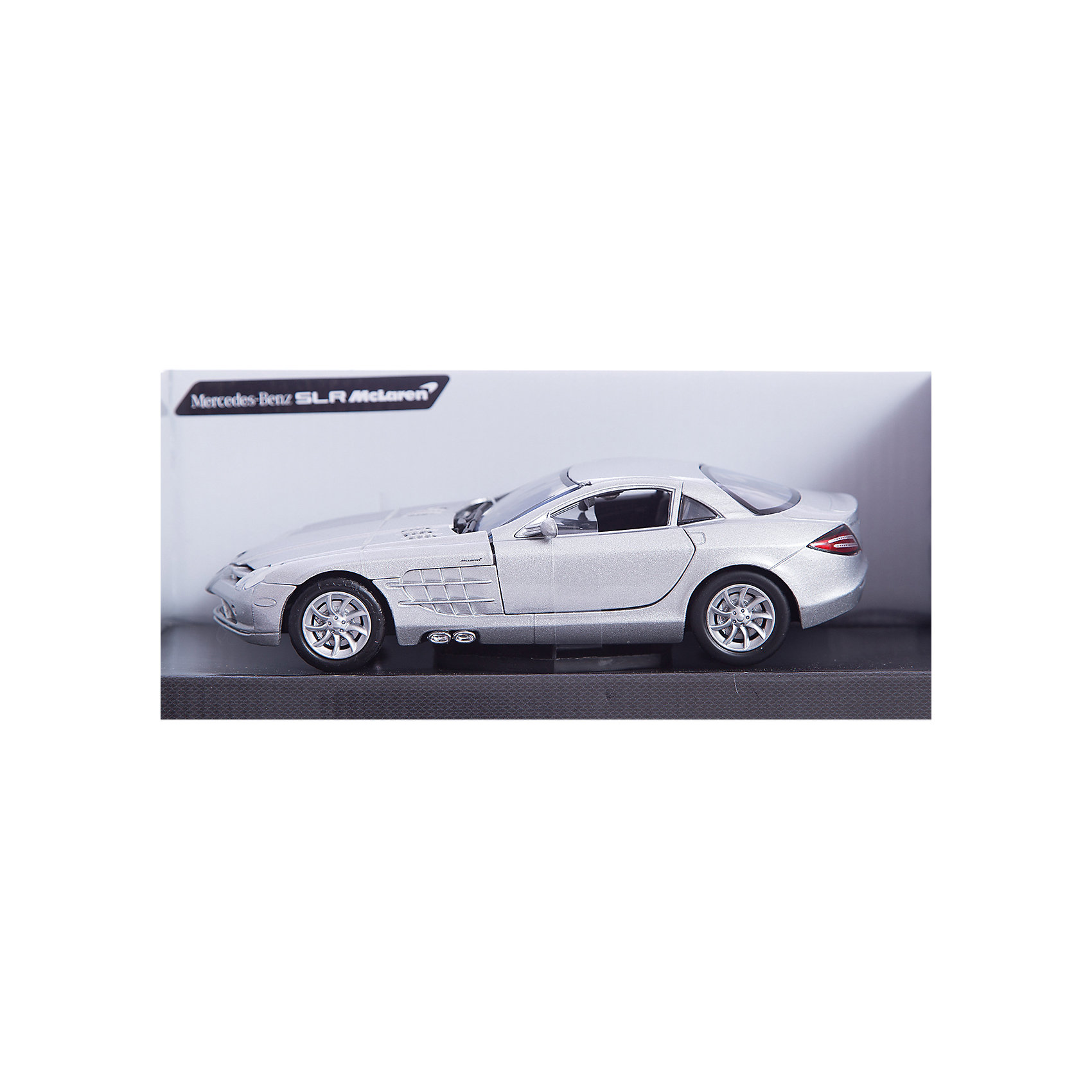 - Машина MERCEDES-BENZ SLR MCLAREN, 1:24, в ассортименте fujimi 1 24 rs 66 mclaren f1 12573 car model kit