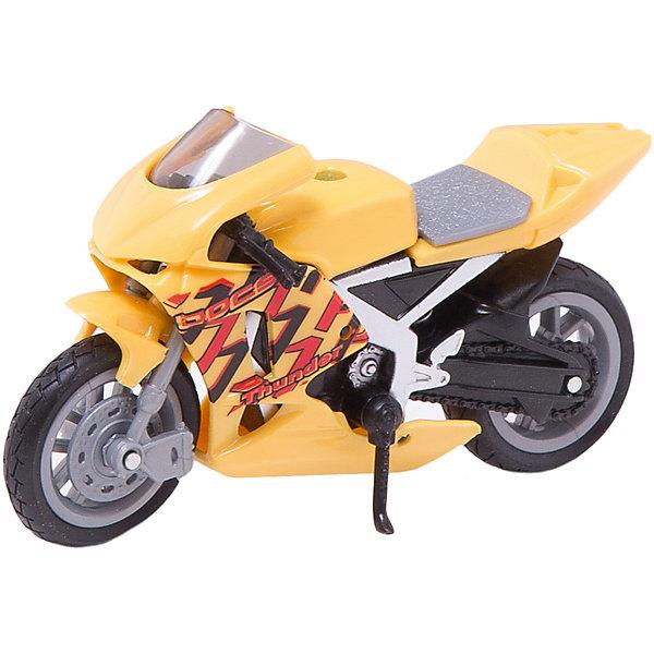 Мотоцикл DAYTONA GRAND PRIX, 1:18Машинки<br>Любой мальчишка придет в восторг от такого яркого и прекрасно детализированного мотоцикла! Модель выполнена в масштабе 1:18, имеет вращающиеся колеса с резиновыми шинами. Изготовлена из металла, реалистично раскрашена. <br><br>Дополнительная информация:<br><br>- Материал: пластик, металл.<br>- Масштаб: 1:18.<br>- Колеса подвижные.<br><br>Машину DAYTONA GRAND PRIX, 1:18, можно купить в нашем магазине.<br>Ширина мм: 140; Глубина мм: 45; Высота мм: 83; Вес г: 82; Возраст от месяцев: 36; Возраст до месяцев: 84; Пол: Мужской; Возраст: Детский; SKU: 4515369;