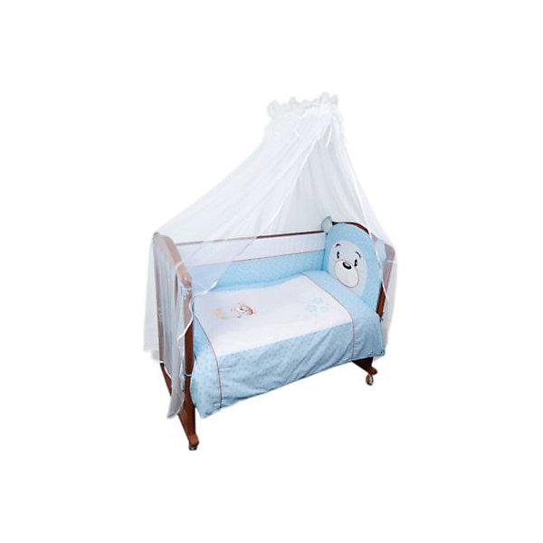 Борт в кроватку Умка, Сонный гномик, голубойПостельное белье в кроватку новорождённого<br>Характеристики:<br><br>• Вид детского текстиля: бортики для кроватки<br>• Пол: для мальчика<br>• Серия: Умка<br>• Тематика рисунка: медвежонок<br>• Сезон: круглый год<br>• Материал: бязь премиум класса, хлопок 100% (ранфорс)<br>• Наполнитель: холлофайбер Хард<br>• Цвет: голубой, бежевый, белый<br>• Размеры: 360*43 см<br>• Съемные чехлы на молнии<br>• Способ крепления к кроватке: завязки<br>• Упаковка: полиэтилен <br>• Вес в упаковке: 900 г<br>• Особенности ухода: машинная стирка при температуре 30 градусов<br><br>Борт Умка Сонный гномик, голубой от отечественного торгового бренда выполнен с учетом международных требований к качеству и безопасности товаров для детей. Комплект предназначен для детских кроваток, спальное место которых составляет не менее 120*60 см. Бортики состоят их четырех частей, выполнены из 100% хлопка с повышенными качественными характеристиками: гигроскопичные, гипоаллергенные, устойчивые к изменению цвета и формы, а также к изминанию, что наиболее важно для детского постельного белья. Все части выполнены из цельного полотна, боковые швы – закрытые, что обеспечивает их прочность и надежность. Для удобства ухода за изделием, предусмотрены съемные чехлы. Бортики выполнены в брендовом дизайне из сочетания хлопка разного цвета. Передняя часть бортиков, которая крепится у изголовья, выполнена в виде мордочки медвежонка.<br>Борт Умка Сонный гномик, голубой обеспечит безопасность и комфорт для крепкого детского сна! <br><br>Борт Умка Сонный гномик, голубой можно купить в нашем интернет-магазине.<br><br>Ширина мм: 600<br>Глубина мм: 150<br>Высота мм: 400<br>Вес г: 900<br>Цвет: голубой<br>Возраст от месяцев: 0<br>Возраст до месяцев: 48<br>Пол: Мужской<br>Возраст: Детский<br>SKU: 4517910