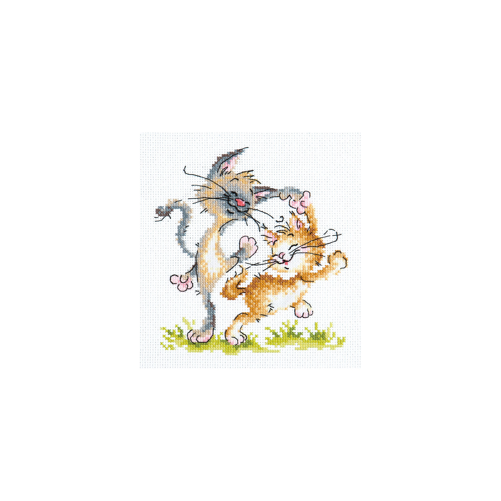 Чудесная игла Набор для вышивания крестом «Танцуют все!» набор для вышивания крестом luca s дневной котенок 5 5 х 10 см