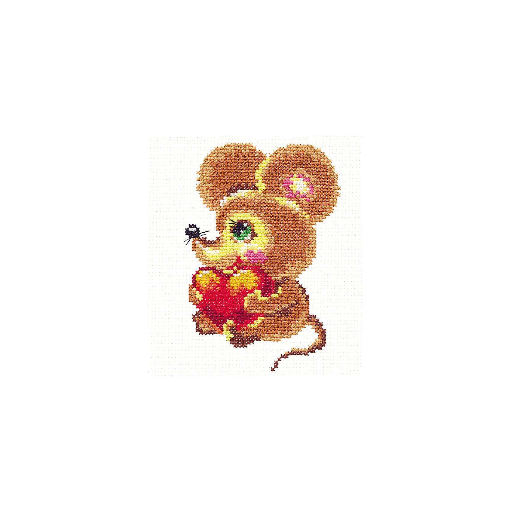 Набор для вышивания крестом «Мышонок»