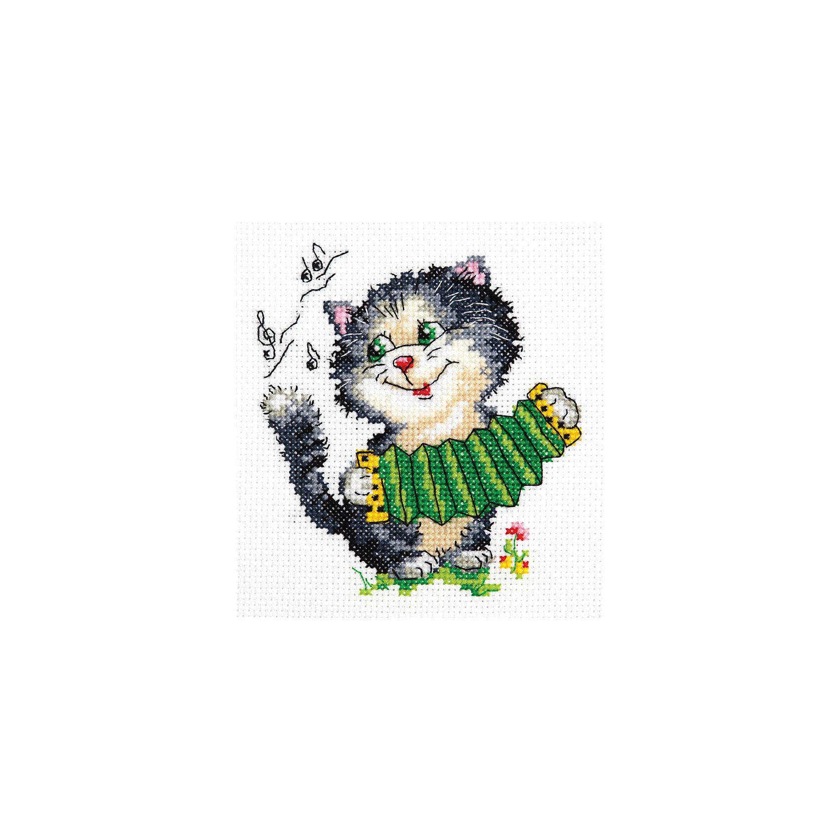 Чудесная игла Набор для вышивания крестом «Первый парень» набор для вышивания крестом luca s дневной котенок 5 5 х 10 см