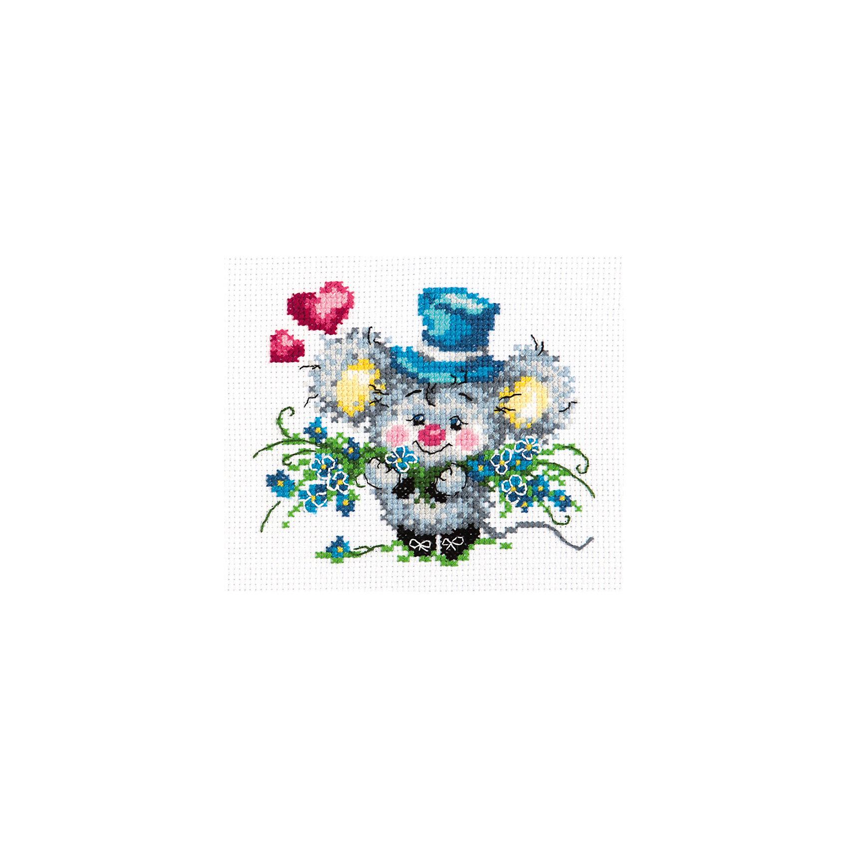 Чудесная игла Набор для вышивания крестом «Предлагаю руку и сердце!» набор для вышивания крестом luca s дневной котенок 5 5 х 10 см