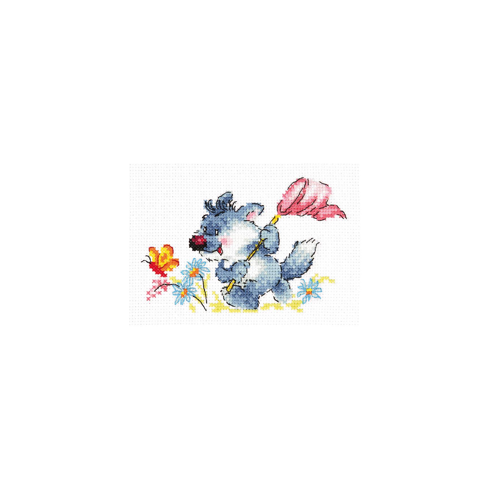 Чудесная игла Набор для вышивания крестом «Романтик!» набор для вышивания крестом luca s дневной котенок 5 5 х 10 см