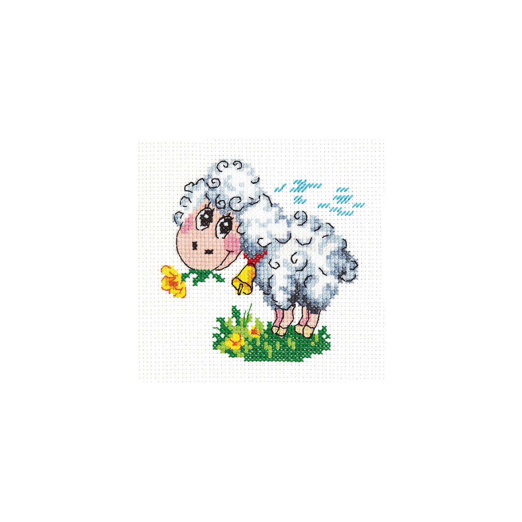 Чудесная игла Набор для вышивания крестом «И будет Вам Счастье!» набор для вышивания крестом luca s дневной котенок 5 5 х 10 см
