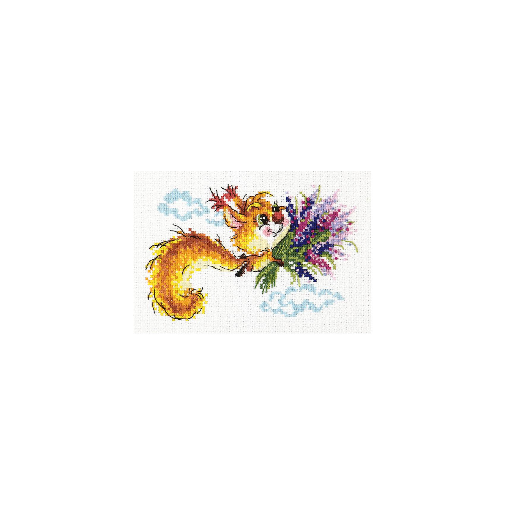Чудесная игла Набор для вышивания крестом «Лечу к тебе!» набор для вышивания крестом luca s дневной котенок 5 5 х 10 см