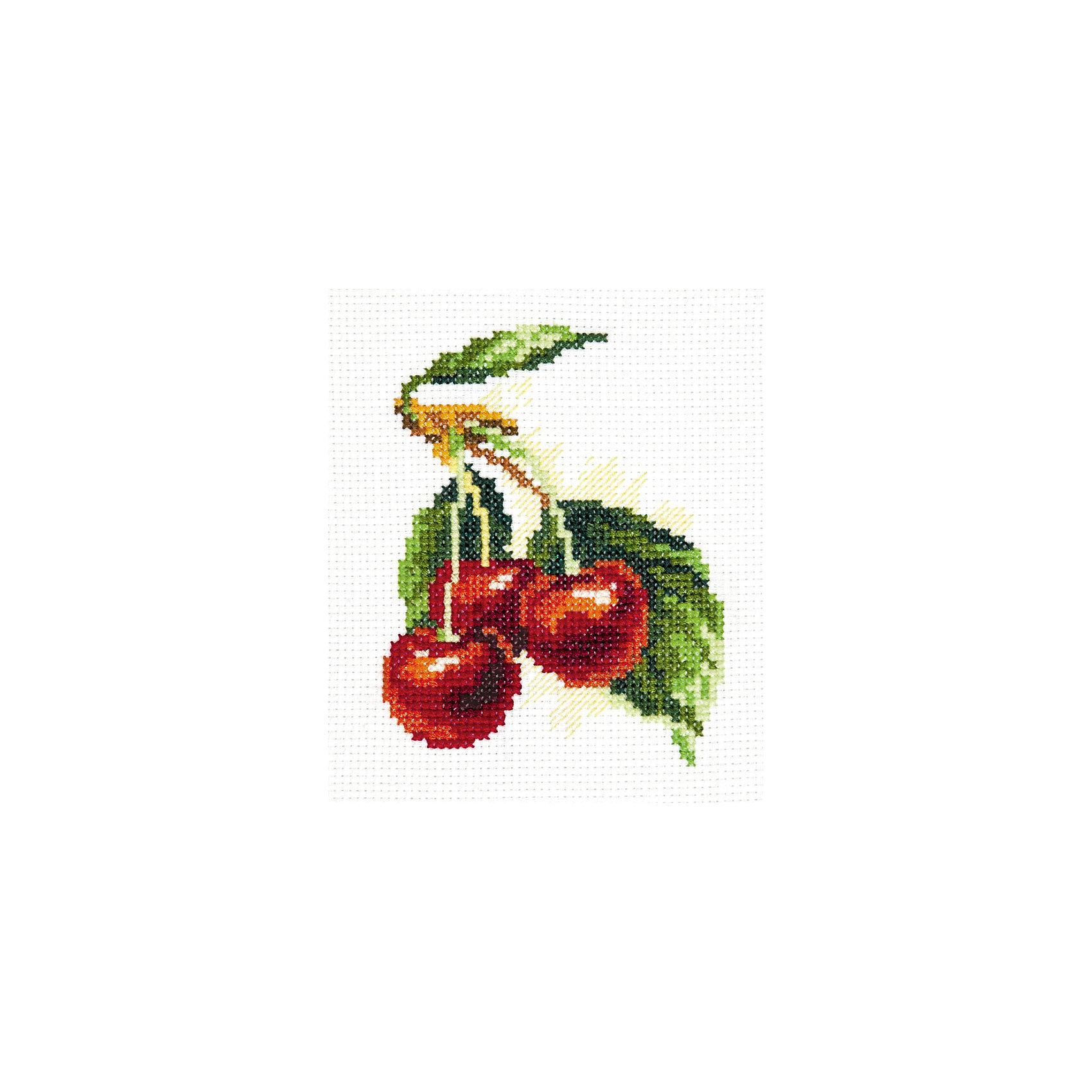 Чудесная игла Набор для вышивания крестом  «Вишня» плитка дикая вишня купить в виннице