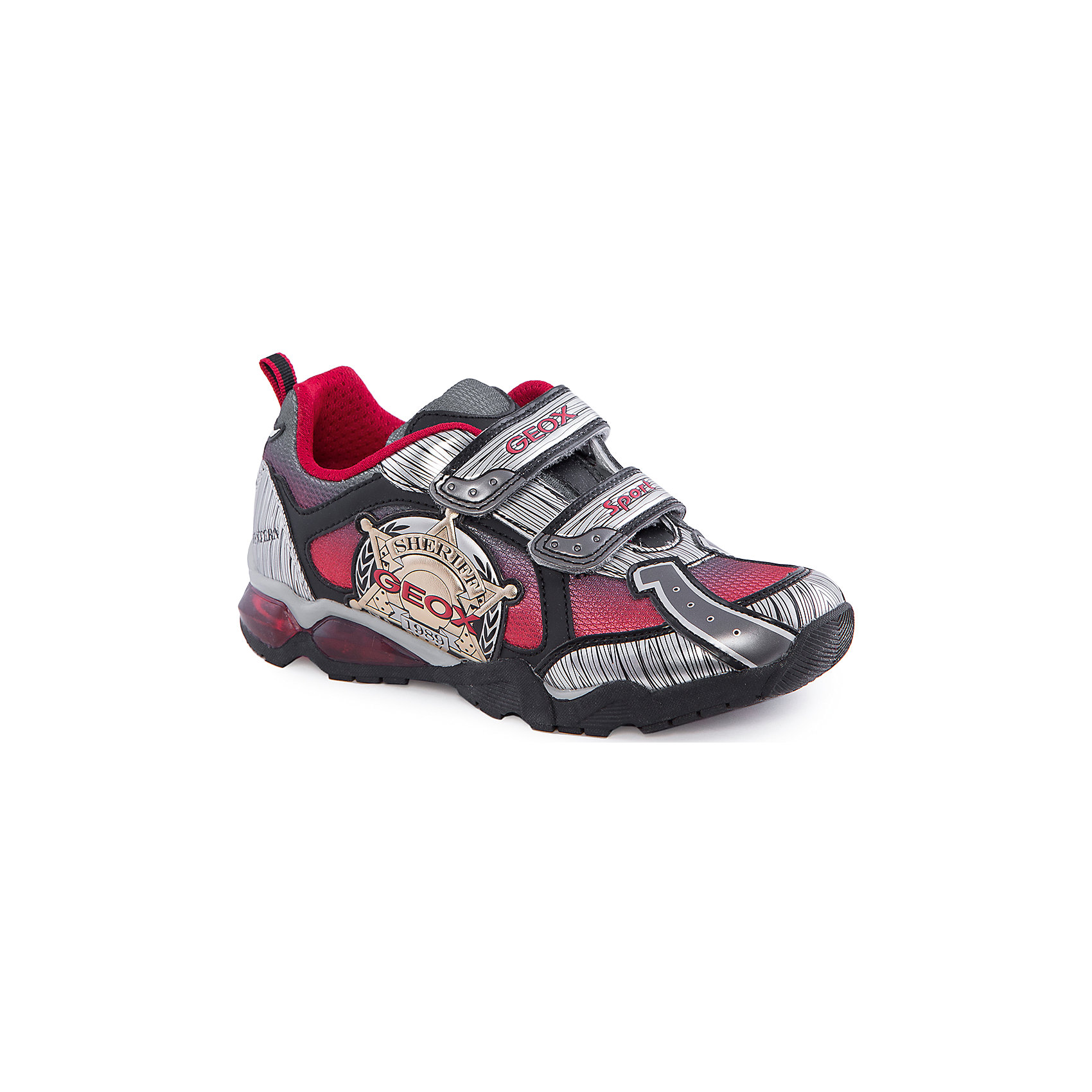 GEOX Кроссовки со светодиодами для мальчика GEOX geox ботинки для мальчика geox