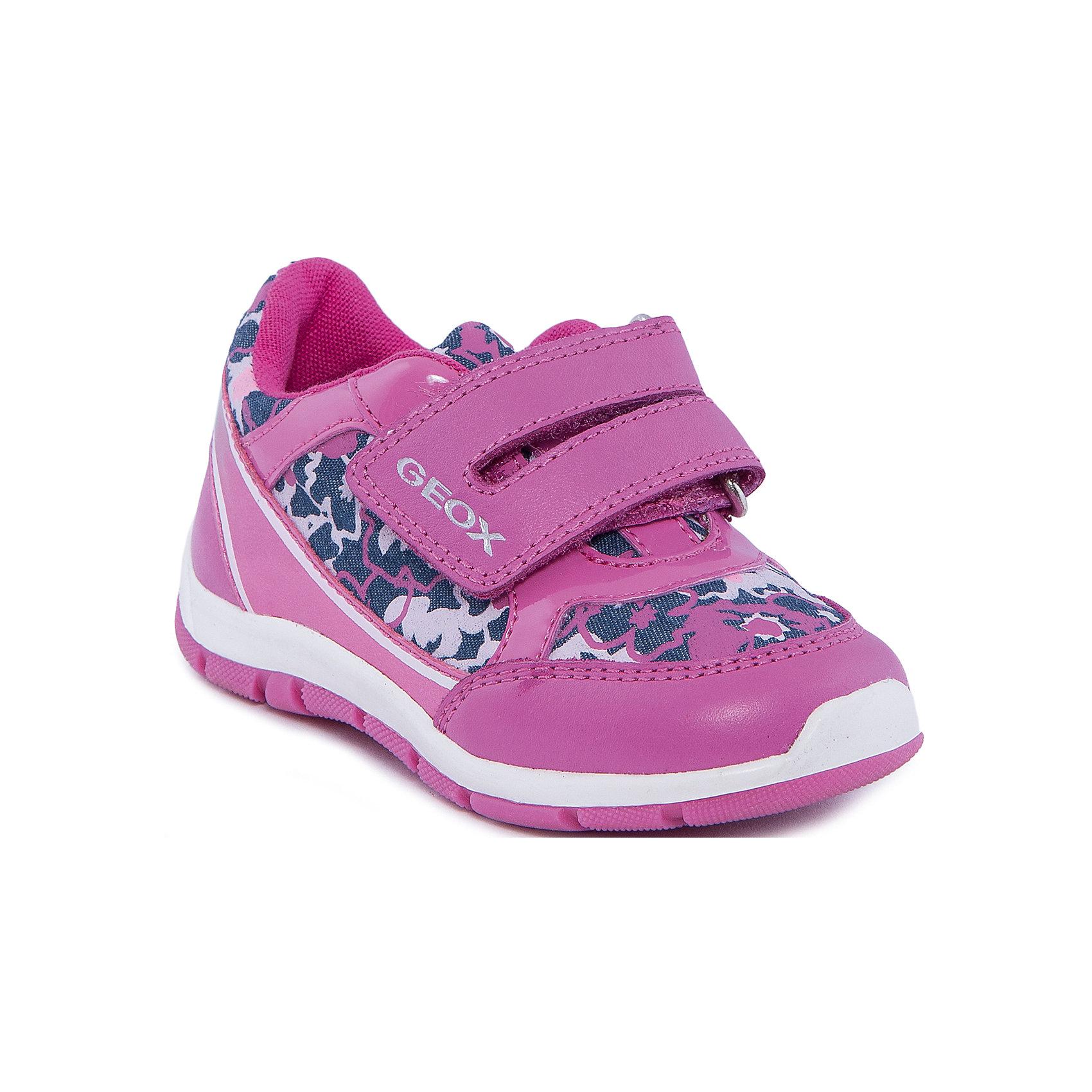 GEOX Кроссовки для девочки GEOX geox geox кроссовки светящиеся розовые
