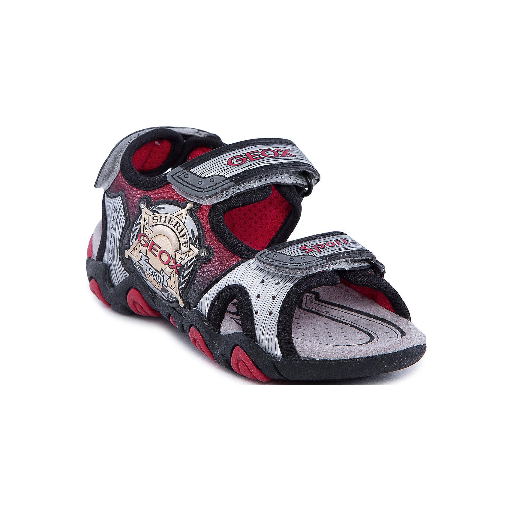 GEOX Сандалии для мальчика GEOX geox ботинки для мальчика geox