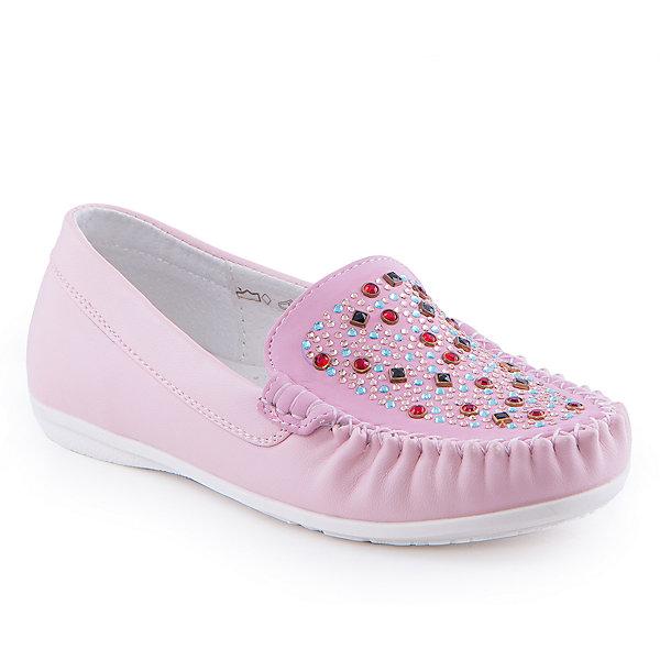 Мокасины для девочки Indigo kidsМокасины<br>Мокасины для девочки от известного бренда Indigo kids.<br><br>Стильные мокасины  - прекрасный вариант обуви для теплого сезона. Они нарядные и модные, но в то же время очень удобные. Эту модель можно носить и с юбкой, и с шортами, и с джинсами. Такие туфли легко надеваются, комфортно садятся по ноге. <br><br>Особенности модели:<br><br>- цвет: розовый;<br>- стильный дизайн;<br>- удобная колодка;<br>- подкладка из натуральной кожи;<br>- украшены стразами;<br>- подошва устойчивая, нескользящая;<br>- прошивка;<br>- без застежек.<br><br>Дополнительная информация:<br><br>Состав:<br><br>верх – искусственная кожа;<br>подкладка - натуральная кожа;<br>подошва - ТЭП.<br><br>Мокасины для девочки Indigo kids (Индиго Кидс) можно купить в нашем магазине.<br><br>Ширина мм: 227<br>Глубина мм: 145<br>Высота мм: 124<br>Вес г: 325<br>Цвет: розовый<br>Возраст от месяцев: 132<br>Возраст до месяцев: 144<br>Пол: Женский<br>Возраст: Детский<br>Размер: 35,36,34,33,32,31<br>SKU: 4519901