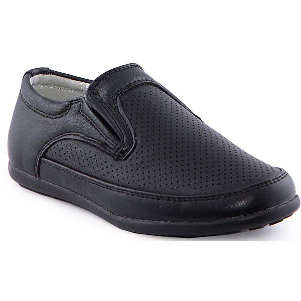 Ботинки для мальчика Indigo kidsОбувь<br>Полуботинки для мальчика от известного бренда Indigo kids<br><br>Стильные полуботинки классического фасона - беспроигрышный вариант обуви для торжественных мероприятий, создания строгого наряда или просто выхода на улицу. Изделия легкие и дышащие.<br><br>Особенности модели:<br><br>- цвет - черный;<br>- классический дизайн;<br>- удобная колодка;<br>- натуральная кожаная подкладка;<br>- перфорация;<br>- устойчивая подошва;<br>- без застежек.<br><br>Дополнительная информация:<br><br>Состав:<br><br>верх – искусственная кожа;<br>подкладка - натуральная кожа;<br>подошва - ТЭП.<br><br>Полуботинки для мальчика Indigo kids (Индиго Кидс) можно купить в нашем магазине.<br><br>Ширина мм: 262<br>Глубина мм: 176<br>Высота мм: 97<br>Вес г: 427<br>Цвет: черный<br>Возраст от месяцев: 60<br>Возраст до месяцев: 72<br>Пол: Мужской<br>Возраст: Детский<br>Размер: 29,31,30,28,27,26<br>SKU: 4519915