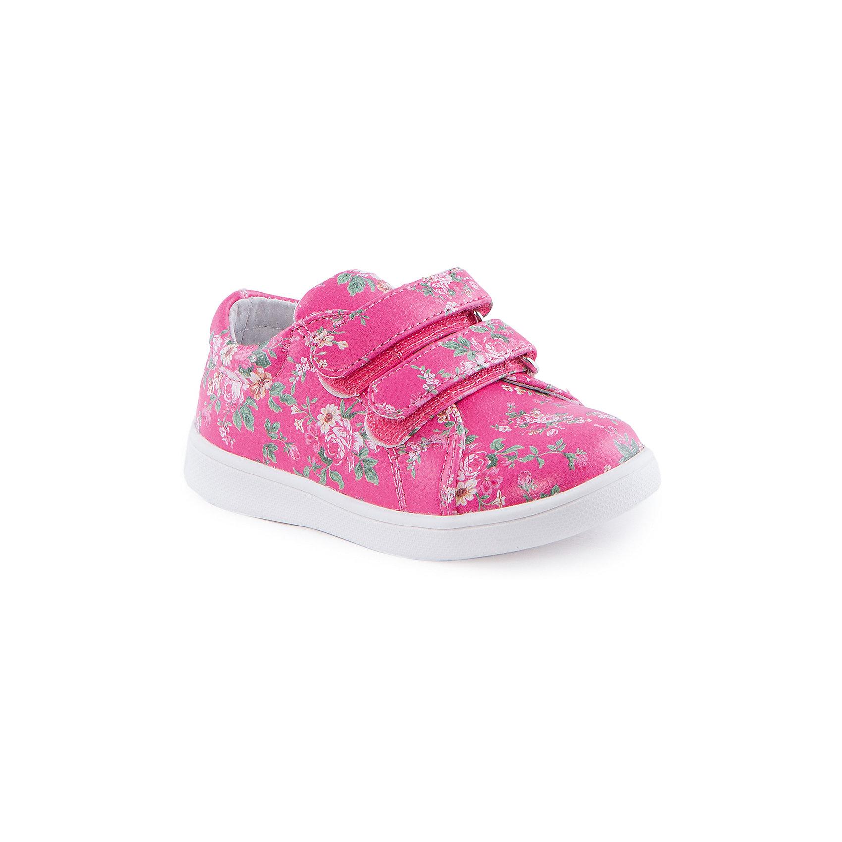 Кроссовки для девочки Indigo kidsБотинки для девочки от известного бренда Indigo kids<br><br>Очень красивые оригинальные ботинки могут быть и очень удобными! Яркий цветочный принт делает эту модель стильной и привлекающей внимание. Ботинки легко надеваются благодаря липучкам и комфортно садятся по ноге. <br><br>Особенности модели:<br><br>- цвет - розовый;<br>- стильный дизайн;<br>- удобная колодка;<br>- натуральная кожаная подкладка;<br>- украшены цветочным принтом;<br>- устойчивая белая подошва;<br>- застежки: липучки.<br><br>Дополнительная информация:<br><br>Состав:<br><br>верх – искусственная кожа;<br>подкладка - натуральная кожа;<br>подошва - ТЭП.<br><br>Ботинки для девочки Indigo kids (Индиго Кидс) можно купить в нашем магазине.<br><br>Ширина мм: 262<br>Глубина мм: 176<br>Высота мм: 97<br>Вес г: 427<br>Цвет: фуксия<br>Возраст от месяцев: 15<br>Возраст до месяцев: 18<br>Пол: Женский<br>Возраст: Детский<br>Размер: 24,23,22,21,26,25<br>SKU: 4519936