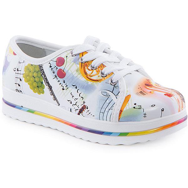 Ботинки для девочки Indigo kidsБотинки<br>Ботинки для девочки от известного бренда Indigo kids<br><br>Оригинальные кеды помогут создать интересный образ! Яркий цветочный принт делает эту модель стильной и привлекающей внимание. Кеды легко надеваются и комфортно садятся по ноге. <br><br>Особенности модели:<br><br>- цвет - белый;<br>- стильный дизайн;<br>- удобная колодка;<br>- натуральная кожаная подкладка;<br>- украшены цветочным принтом;<br>- устойчивая белая подошва с яркой вставкой;<br>- застежки: молния, шнуровка.<br><br>Дополнительная информация:<br><br>Состав:<br><br>верх – искусственная кожа;<br>подкладка - натуральная кожа;<br>подошва - ТЭП.<br><br>Ботинки для девочки Indigo kids (Индиго Кидс) можно купить в нашем магазине.<br><br>Ширина мм: 262<br>Глубина мм: 176<br>Высота мм: 97<br>Вес г: 427<br>Цвет: белый<br>Возраст от месяцев: 120<br>Возраст до месяцев: 132<br>Пол: Женский<br>Возраст: Детский<br>Размер: 34,32,33,35,30,31<br>SKU: 4519971