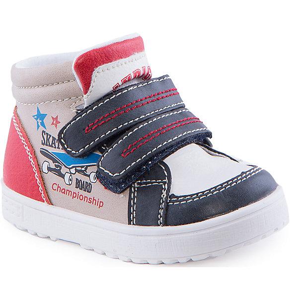 Ботинки для мальчика Indigo kidsОбувь для малышей<br>Ботинки для мальчика от известного бренда Indigo kids<br><br>Стильные и удобные ботинки отлично смотрятся на детских ножках. Очень оригинальная и модная модель создана специально для мальчиков. Ботинки легко надеваются благодаря застежкам и комфортно садятся по ноге. <br><br>Особенности модели:<br><br>- цвет - бежевый, белый, серый;<br>- стильный дизайн;<br>- удобная колодка;<br>- текстильная подкладка;<br>- качественная прострочка;<br>- декорированы принтом скейтборд;<br>- устойчивая белая подошва;<br>- застежки: липучки.<br><br>Дополнительная информация:<br><br>Температурный режим:<br>от +5° С до +15° С<br><br>Состав:<br><br>верх – искусственная кожа;<br>подкладка - текстиль;<br>подошва - ТЭП.<br><br>Ботинки для мальчика Indigo kids (Индиго Кидс) можно купить в нашем магазине.<br>Ширина мм: 262; Глубина мм: 176; Высота мм: 97; Вес г: 427; Цвет: бежевый; Возраст от месяцев: 18; Возраст до месяцев: 21; Пол: Мужской; Возраст: Детский; Размер: 23,25,22,26,24,21; SKU: 4520055;