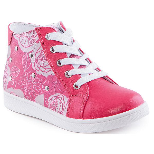 Ботинки для девочки Indigo kidsБотинки<br>Ботинки для девочки от известного бренда Indigo kids<br><br>Очень красивые нарядные ботинки могут быть и очень удобными! Яркий цвет делает эту модель стильной и привлекающей внимание. Ботинки легко надеваются благодаря шнуровке и молнии и комфортно садятся по ноге. <br><br>Особенности модели:<br><br>- цвет - коралловые;<br>- стильный дизайн;<br>- удобная колодка;<br>- текстильная подкладка;<br>- украшены принтом и металлическими элементами;<br>- устойчивая подошва;<br>- задняя часть - блестящая;<br>- застежки: шнуровка, молния.<br><br>Дополнительная информация:<br><br>Температурный режим:<br>от +10° С до +20° С<br><br>Состав:<br><br>верх – искусственная кожа;<br>подкладка - текстиль;<br>подошва - ТЭП.<br><br>Ботинки для девочки Indigo kids (Индиго Кидс) можно купить в нашем магазине.<br><br>Ширина мм: 262<br>Глубина мм: 176<br>Высота мм: 97<br>Вес г: 427<br>Цвет: красный<br>Возраст от месяцев: 60<br>Возраст до месяцев: 72<br>Пол: Женский<br>Возраст: Детский<br>Размер: 29,26,28,30,27,31<br>SKU: 4520076