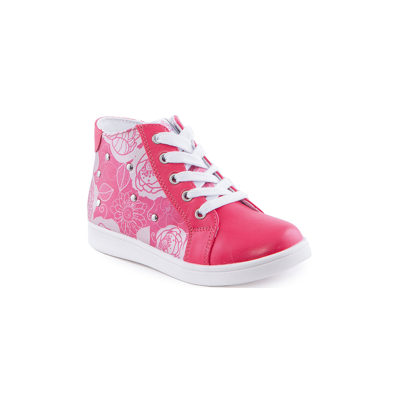 Ботинки для девочки Indigo kidsБотинки<br>Ботинки для девочки от известного бренда Indigo kids<br><br>Очень красивые нарядные ботинки могут быть и очень удобными! Яркий цвет делает эту модель стильной и привлекающей внимание. Ботинки легко надеваются благодаря шнуровке и молнии и комфортно садятся по ноге. <br><br>Особенности модели:<br><br>- цвет - коралловые;<br>- стильный дизайн;<br>- удобная колодка;<br>- текстильная подкладка;<br>- украшены принтом и металлическими элементами;<br>- устойчивая подошва;<br>- задняя часть - блестящая;<br>- застежки: шнуровка, молния.<br><br>Дополнительная информация:<br><br>Температурный режим:<br>от +10° С до +20° С<br><br>Состав:<br><br>верх – искусственная кожа;<br>подкладка - текстиль;<br>подошва - ТЭП.<br><br>Ботинки для девочки Indigo kids (Индиго Кидс) можно купить в нашем магазине.<br><br>Ширина мм: 262<br>Глубина мм: 176<br>Высота мм: 97<br>Вес г: 427<br>Цвет: красный<br>Возраст от месяцев: 36<br>Возраст до месяцев: 48<br>Пол: Женский<br>Возраст: Детский<br>Размер: 27,26,31,30,29,28<br>SKU: 4520076
