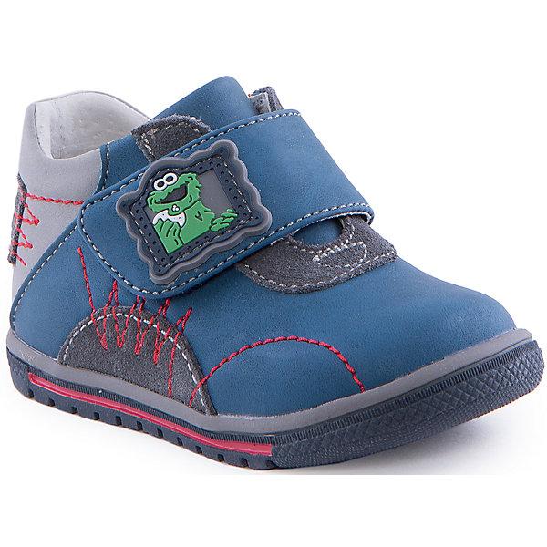 Ботинки для мальчика Indigo kidsБотинки<br>Ботинки для мальчика от известного бренда Indigo kids<br><br>Удобные ботинки отличаются оригинальной яркой отделкой. Они легко надеваются благодаря липучкам и комфортно садятся по ноге. <br><br>Особенности модели:<br><br>- цвет - синий, серый;<br>- стильный дизайн;<br>- удобная колодка;<br>- натуральная кожаная подкладка;<br>- декорированы аппликацией;<br>- качественная контрастная прошивка;<br>- устойчивая подошва;<br>- застежки: липучки.<br><br>Дополнительная информация:<br><br>Состав:<br><br>верх – искусственная кожа;<br>подкладка - натуральная кожа;<br>подошва - ТЭП.<br><br>Ботинки для мальчика Indigo kids (Индиго Кидс) можно купить в нашем магазине.<br><br>Ширина мм: 262<br>Глубина мм: 176<br>Высота мм: 97<br>Вес г: 427<br>Цвет: голубой<br>Возраст от месяцев: 9<br>Возраст до месяцев: 12<br>Пол: Мужской<br>Возраст: Детский<br>Размер: 20,24,25,21,23,22<br>SKU: 4520104
