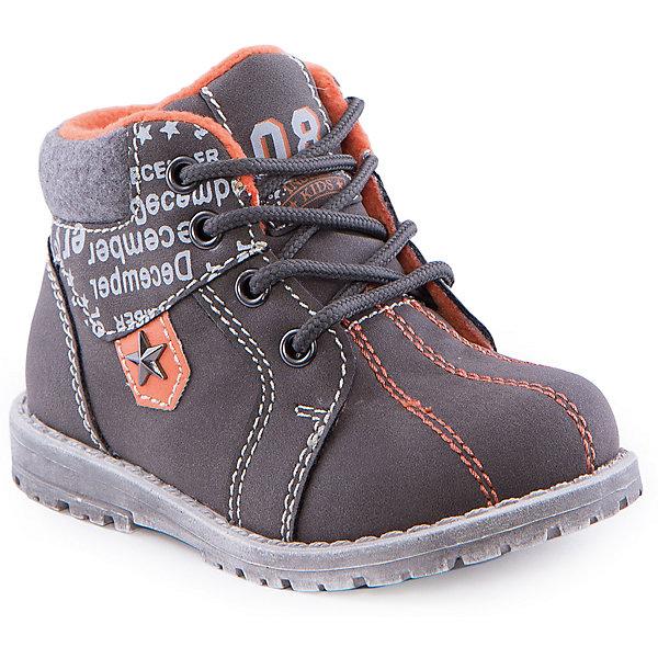 Ботинки для мальчика Indigo kidsБотинки<br>Ботинки для мальчика от известного бренда Indigo kids<br><br>Стильные ботинки могут быть и очень удобными! Оригинальный дизайн делает эту модель модной и привлекающей внимание. Ботинки легко надеваются благодаря шнуровке и молнии и комфортно садятся по ноге. <br><br>Особенности модели:<br><br>- цвет - хаки, оранжевый;<br>- стильный дизайн;<br>- удобная колодка;<br>- байковая подкладка;<br>- украшены принтом;<br>- устойчивая подошва;<br>- высокие;<br>- белая прошивка;<br>- застежки: шнуровка, молния.<br><br>Дополнительная информация:<br><br>Температурный режим:<br>от +5° С до +15° С<br><br>Состав:<br><br>верх – искусственная кожа;<br>подкладка - байка;<br>подошва - ТЭП.<br><br>Ботинки для мальчика Indigo kids (Индиго Кидс) можно купить в нашем магазине.<br><br>Ширина мм: 262<br>Глубина мм: 176<br>Высота мм: 97<br>Вес г: 427<br>Цвет: хаки<br>Возраст от месяцев: 12<br>Возраст до месяцев: 15<br>Пол: Мужской<br>Возраст: Детский<br>Размер: 21,25,26,24,23,22<br>SKU: 4520139