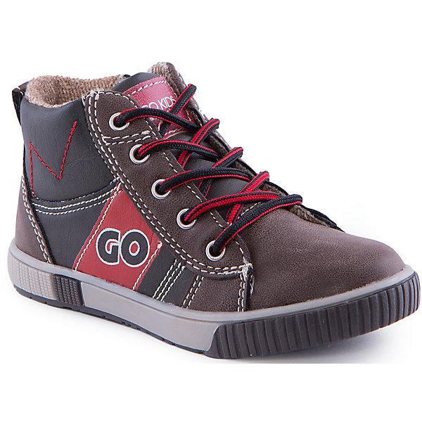 Кеды для мальчика Indigo kidsКеды<br>Ботинки для мальчика от известного бренда Indigo kids<br><br>Модные кеды могут быть и очень удобными! Эти удобные кеды легко надеваются благодаря шнуровке и молнии и комфортно садятся по ноге. <br><br>Особенности модели:<br><br>- цвет - коричневый;<br>- стильный дизайн;<br>- удобная колодка;<br>- текстильная подкладка;<br>- украшены контрастной прострочкой и вставками;<br>- устойчивая подошва;<br>- контрастные шнурки;<br>- застежки: шнуровка, молния.<br><br>Дополнительная информация:<br><br>Температурный режим:<br>от +5° С до +20° С<br><br>Состав:<br><br>верх – искусственная кожа;<br>подкладка - текстиль;<br>подошва - ТЭП.<br><br>Ботинки для девочки Indigo kids (Индиго Кидс) можно купить в нашем магазине.<br><br>Ширина мм: 262<br>Глубина мм: 176<br>Высота мм: 97<br>Вес г: 427<br>Цвет: серый<br>Возраст от месяцев: 24<br>Возраст до месяцев: 24<br>Пол: Мужской<br>Возраст: Детский<br>Размер: 25,27,26,28,29,30<br>SKU: 4520202