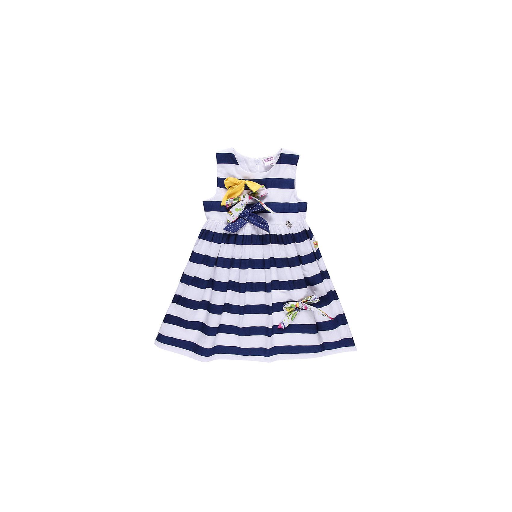 Платье для девочки Sweet BerryЛетнее платье на каждый день, из тонкого поплина, застежка-молния сзади, модель украшена бантами из разной ткани.<br>Состав:<br>100% хлопок<br><br>Ширина мм: 236<br>Глубина мм: 16<br>Высота мм: 184<br>Вес г: 177<br>Цвет: белый/синий<br>Возраст от месяцев: 18<br>Возраст до месяцев: 24<br>Пол: Женский<br>Возраст: Детский<br>Размер: 92,86,80,98<br>SKU: 4520265