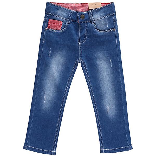 Джинсы для девочки Sweet BerryДжинсовая одежда<br>Джинсы с контрастной отделкой и регулировкой внутри на поясе. Застежка - крючок, очень удобна для маленьких.<br>Состав:<br>98% хлопок, 2% эластан<br>Ширина мм: 215; Глубина мм: 88; Высота мм: 191; Вес г: 336; Цвет: голубой; Возраст от месяцев: 9; Возраст до месяцев: 12; Пол: Женский; Возраст: Детский; Размер: 80,86,92,98; SKU: 4520318;