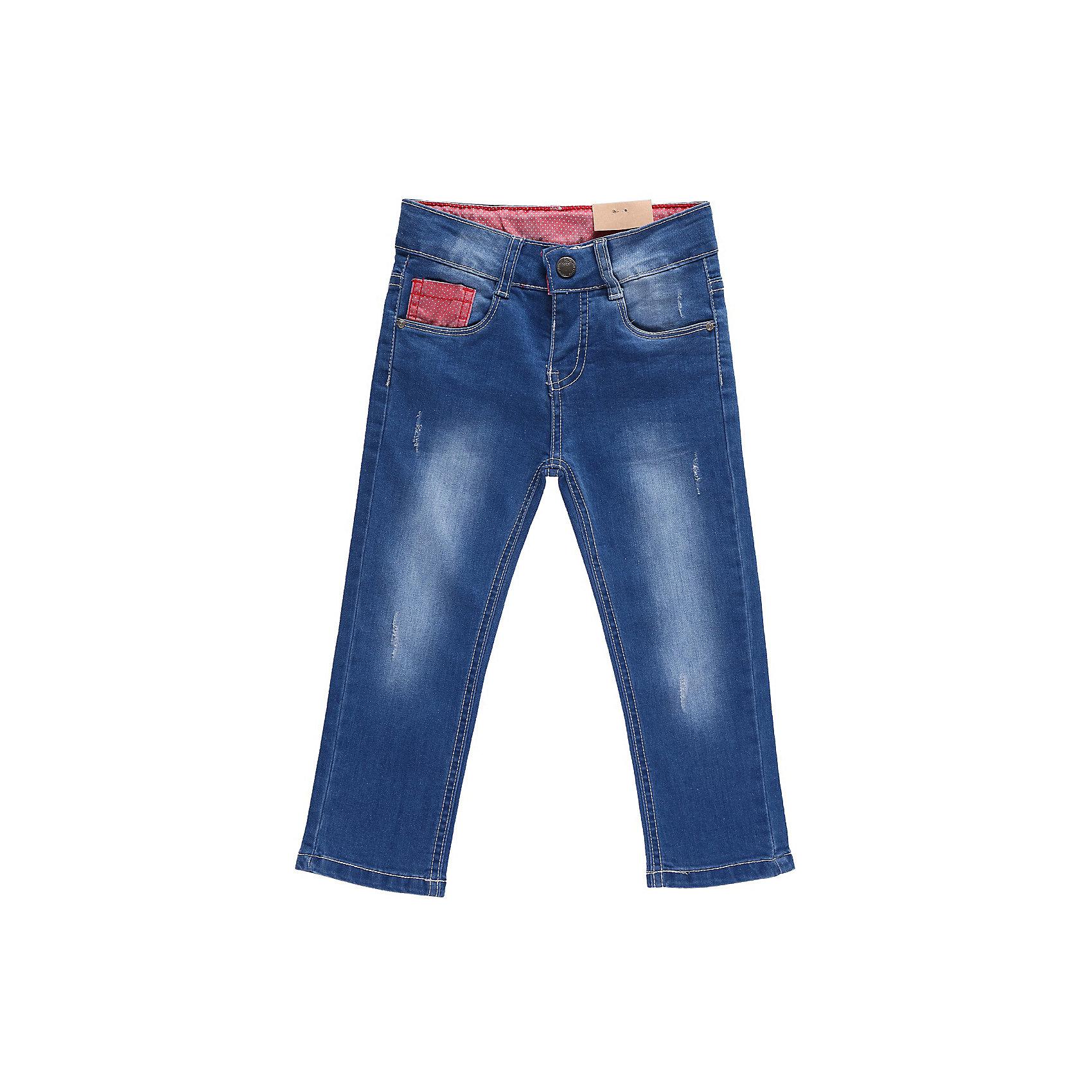 Джинсы для девочки Sweet BerryДжинсовая одежда<br>Джинсы с контрастной отделкой и регулировкой внутри на поясе. Застежка - крючок, очень удобна для маленьких.<br>Состав:<br>98% хлопок, 2% эластан<br><br>Ширина мм: 215<br>Глубина мм: 88<br>Высота мм: 191<br>Вес г: 336<br>Цвет: голубой<br>Возраст от месяцев: 12<br>Возраст до месяцев: 18<br>Пол: Женский<br>Возраст: Детский<br>Размер: 86,92,98,80<br>SKU: 4520318