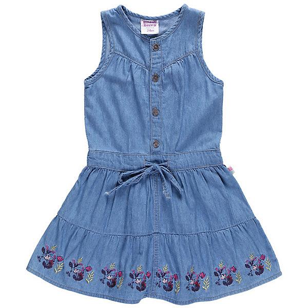 Платье джинсовое для девочки Sweet BerryПлатья<br>Платье из тонкой джинсы на кнопках.<br>Состав:<br>100% хлопок<br>Ширина мм: 236; Глубина мм: 16; Высота мм: 184; Вес г: 177; Цвет: синий; Возраст от месяцев: 9; Возраст до месяцев: 12; Пол: Женский; Возраст: Детский; Размер: 80,86,98,92; SKU: 4520440;