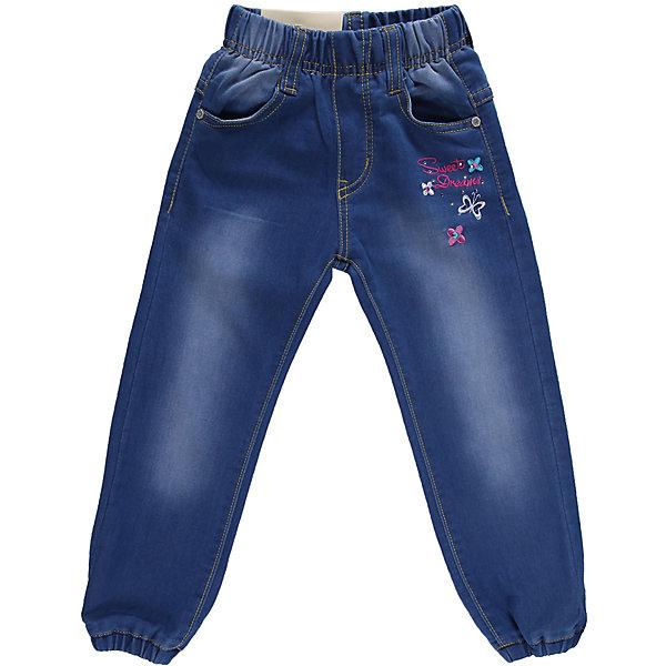 Джинсы для девочки Sweet BerryДжинсы и брючки<br>Джинсы на девочку, украшены вышивкой и  оригинальной металлофурнитурой. Отличный вариант на каждый день. <br>Состав:<br>98% хлопок 2%эластан<br><br>Ширина мм: 215<br>Глубина мм: 88<br>Высота мм: 191<br>Вес г: 336<br>Цвет: синий<br>Возраст от месяцев: 9<br>Возраст до месяцев: 12<br>Пол: Женский<br>Возраст: Детский<br>Размер: 80,86,92,98<br>SKU: 4520518