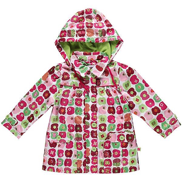 Плащ для девочки Sweet BerryВерхняя одежда<br>Плащ для девочки с модным  принтом в яблоко. Внутри трикотажная подкладка.<br>Состав:<br>Верх: 100% полиэстер, Подкладка: 65% хлопок, 35% полиэстер<br>Ширина мм: 356; Глубина мм: 10; Высота мм: 245; Вес г: 519; Цвет: белый; Возраст от месяцев: 24; Возраст до месяцев: 36; Пол: Женский; Возраст: Детский; Размер: 98,92,80,86; SKU: 4520523;