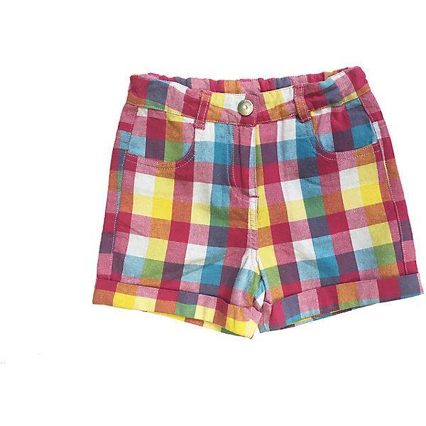Шорты для девочки Sweet BerryШорты, бриджи, капри<br>Яркие шорты на девочку, из тонкого хлопка, принтованные в клетку, с отворотами и с удобной застежкой - на крючок.<br>Состав:<br>100% хлопок<br><br>Ширина мм: 191<br>Глубина мм: 10<br>Высота мм: 175<br>Вес г: 273<br>Цвет: белый<br>Возраст от месяцев: 9<br>Возраст до месяцев: 12<br>Пол: Женский<br>Возраст: Детский<br>Размер: 80,98,86,92<br>SKU: 4520533