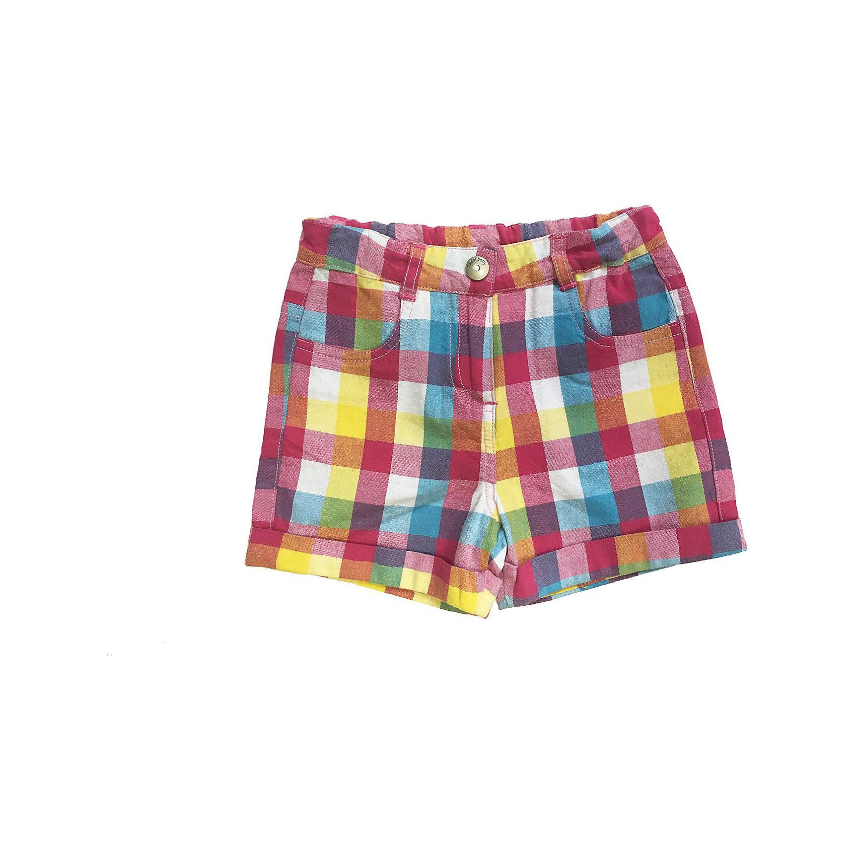 Шорты для девочки Sweet BerryШорты, бриджи, капри<br>Яркие шорты на девочку, из тонкого хлопка, принтованные в клетку, с отворотами и с удобной застежкой - на крючок.<br>Состав:<br>100% хлопок<br><br>Ширина мм: 191<br>Глубина мм: 10<br>Высота мм: 175<br>Вес г: 273<br>Цвет: разноцветный<br>Возраст от месяцев: 9<br>Возраст до месяцев: 12<br>Пол: Женский<br>Возраст: Детский<br>Размер: 80,86,98,92<br>SKU: 4520533