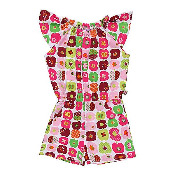 Комбинезон для девочки Sweet BerryКомбинезоны<br>Комбинезон их яркого эластичного трикотажа. Регулируется эластичными резинками.<br>Состав:<br>95% хлопок, 5% эластан<br><br>Ширина мм: 215<br>Глубина мм: 88<br>Высота мм: 191<br>Вес г: 336<br>Цвет: белый<br>Возраст от месяцев: 9<br>Возраст до месяцев: 12<br>Пол: Женский<br>Возраст: Детский<br>Размер: 80,92,98,86<br>SKU: 4520543