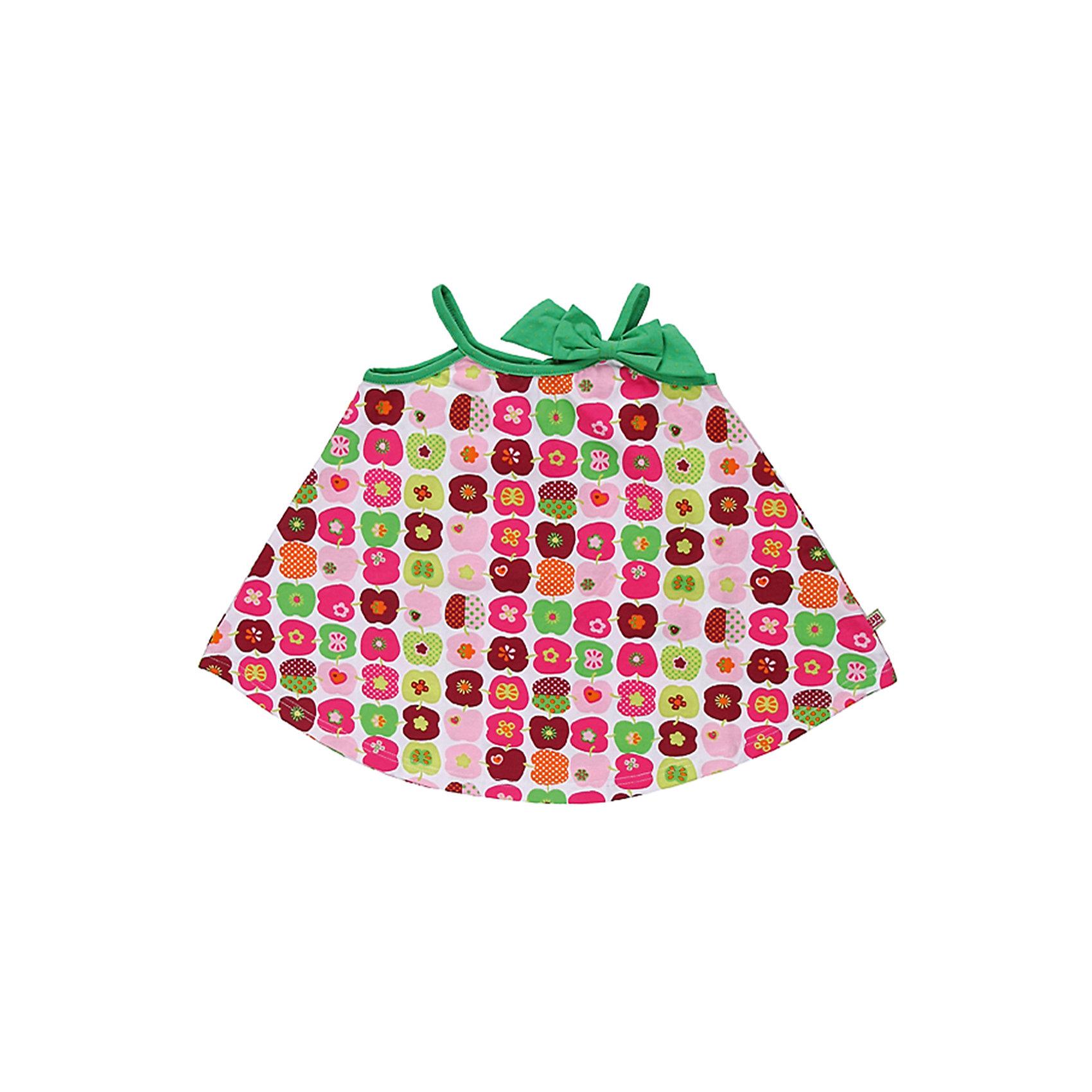 Платье для девочки Sweet BerryПлатья<br>Сарафан из  принтованного эластичного трикотажа.Конструкция сарафана надежно удерживает лямки на плечах ребенка.<br>Состав:<br>95% хлопок, 5% эластан<br><br>Ширина мм: 236<br>Глубина мм: 16<br>Высота мм: 184<br>Вес г: 177<br>Цвет: разноцветный<br>Возраст от месяцев: 24<br>Возраст до месяцев: 36<br>Пол: Женский<br>Возраст: Детский<br>Размер: 98,80,92,86<br>SKU: 4520573