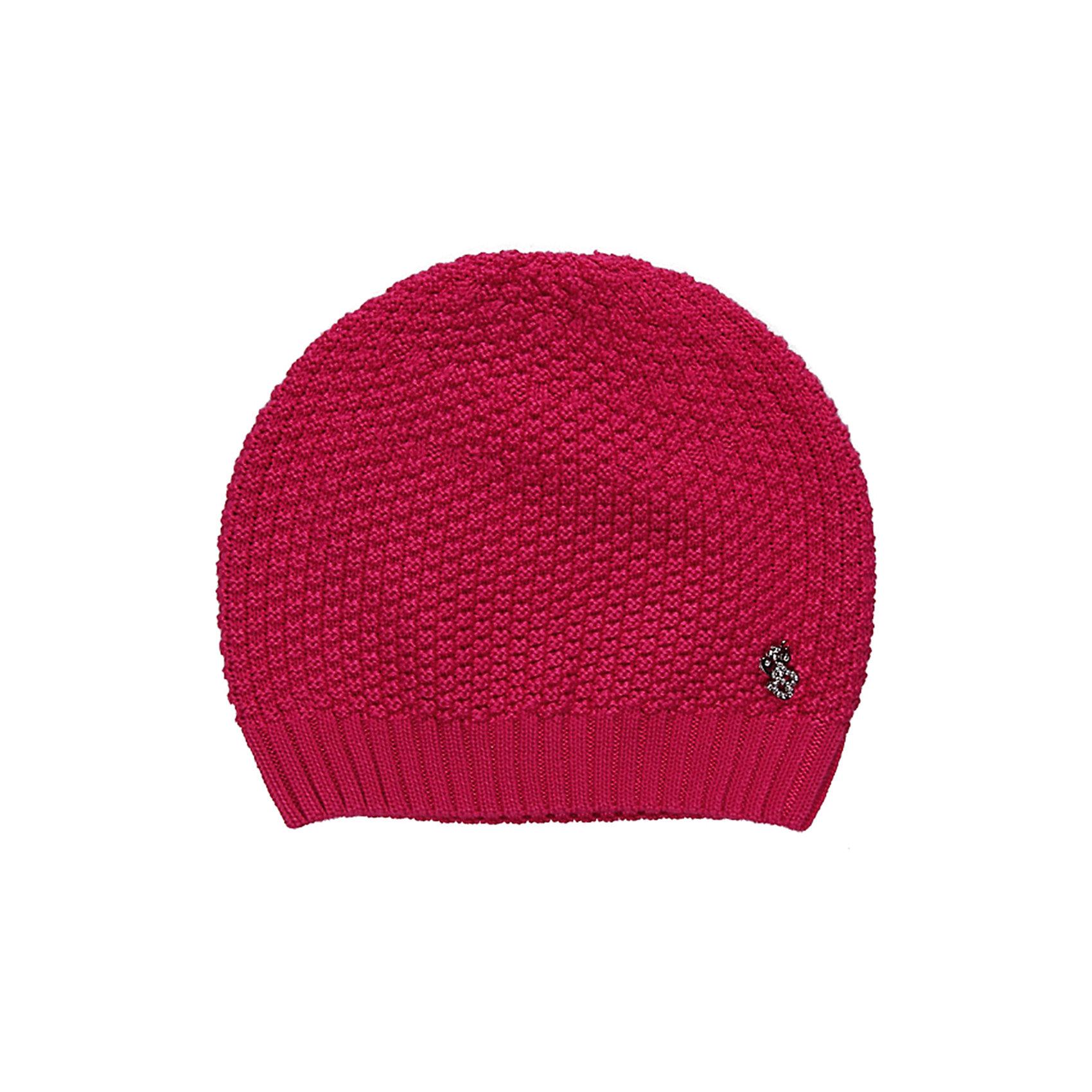 Шапка для девочки Sweet BerryГоловные уборы<br>Стильная объемная вязанная шапка для девочки.<br>Состав:<br>100% хлопок<br><br>Ширина мм: 89<br>Глубина мм: 117<br>Высота мм: 44<br>Вес г: 155<br>Цвет: розовый<br>Возраст от месяцев: 48<br>Возраст до месяцев: 60<br>Пол: Женский<br>Возраст: Детский<br>Размер: 52,54,50<br>SKU: 4520771