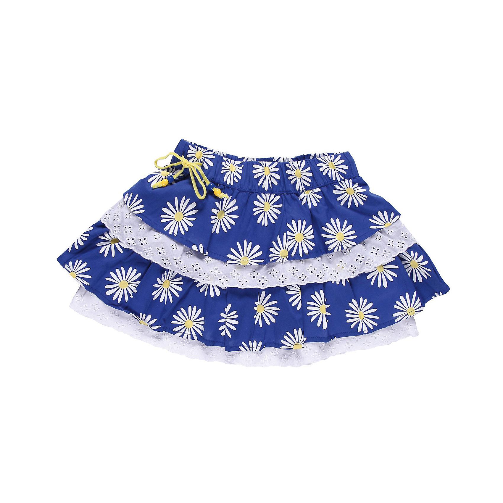 Юбка для девочки Sweet BerryЮбки<br>Стильная юбка на девочку из тонкого принтованного хлопка, два широких волана украшены ажурным шитьем, пояс на резинке.<br>Состав:<br>100% хлопок<br><br>Ширина мм: 207<br>Глубина мм: 10<br>Высота мм: 189<br>Вес г: 183<br>Цвет: разноцветный<br>Возраст от месяцев: 60<br>Возраст до месяцев: 72<br>Пол: Женский<br>Возраст: Детский<br>Размер: 116,128,104,98,122,110<br>SKU: 4520831