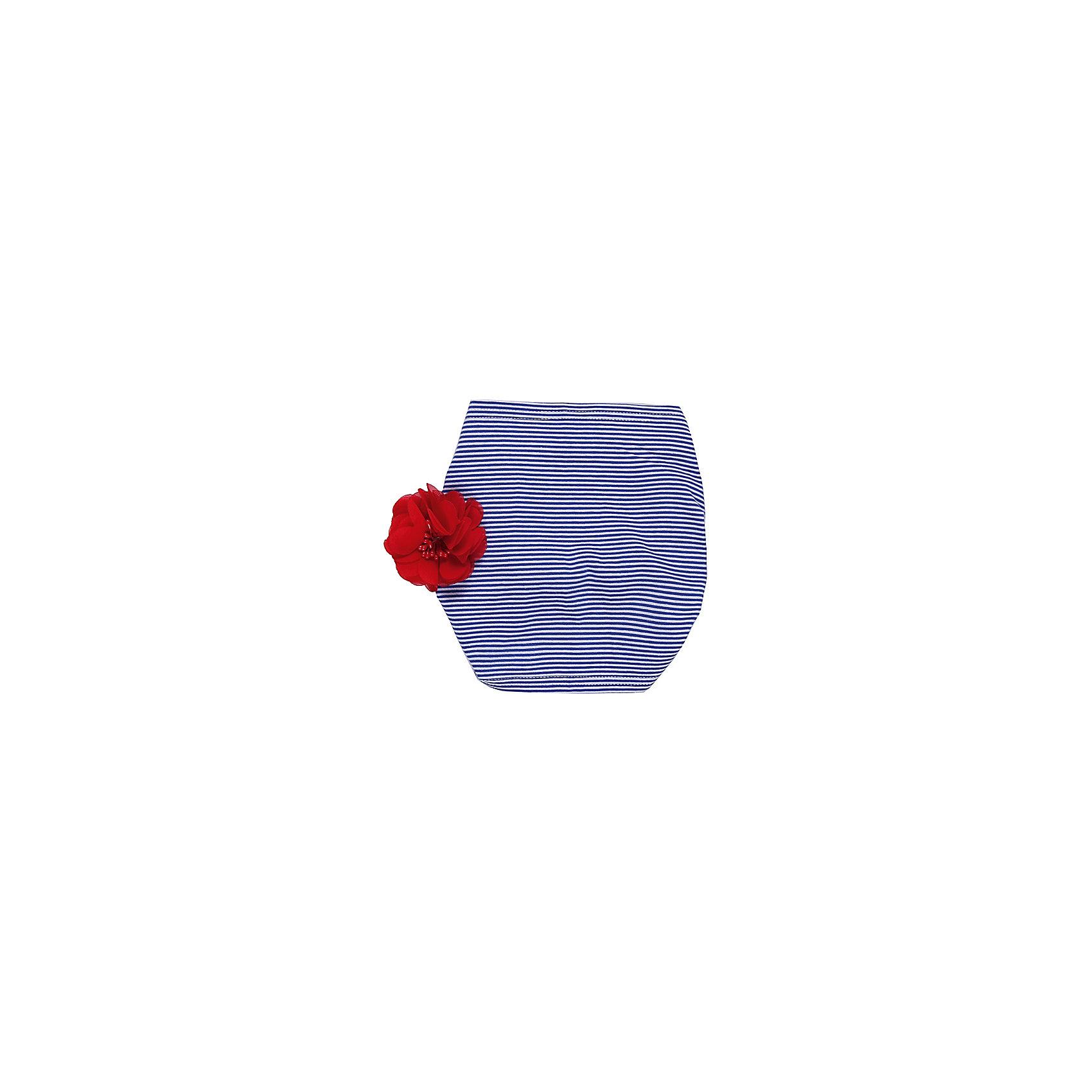 Повязка на голову для девочки Sweet BerryЛетние<br>Трикотажная повязка на голову. Регулируется резинкой. Декорирована цветком.<br>Состав:<br>95% хлопок, 5% эластан<br><br>Ширина мм: 89<br>Глубина мм: 117<br>Высота мм: 44<br>Вес г: 155<br>Цвет: синий/красный<br>Возраст от месяцев: 24<br>Возраст до месяцев: 36<br>Пол: Женский<br>Возраст: Детский<br>Размер: 50,52,54<br>SKU: 4521112
