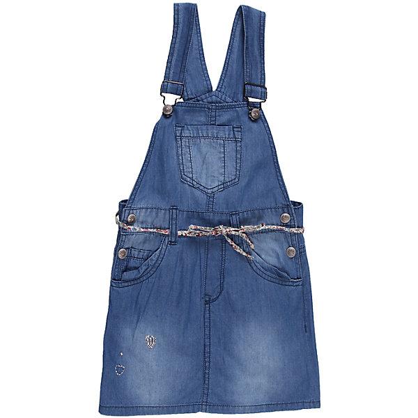 Сарафан джинсовый для девочки Sweet BerryДжинсовая одежда<br>Стильный джинсовый сарафан для девочки, декорирован оригинальной металлофурнитурой и вышивкой.<br>Состав:<br>100% хлопок<br><br>Ширина мм: 236<br>Глубина мм: 16<br>Высота мм: 184<br>Вес г: 177<br>Цвет: синий<br>Возраст от месяцев: 24<br>Возраст до месяцев: 36<br>Пол: Женский<br>Возраст: Детский<br>Размер: 98,110,122,128,104,116<br>SKU: 4521152