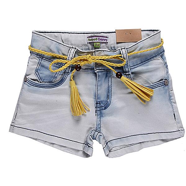 Шорты джинсовые для девочки Sweet BerryШорты, бриджи, капри<br>Шорты из джинсовой ткани для девочек. Небольшой процент эластана в ткани делает их более мягкими и устойчивыми к стирке. Шорты - светло-голубые, в районе швов цвет ткани становится синим. Оригинальные и модные шорты будут хорошим элементом гардероба для прогулок.<br>Состав:<br>98% хлопок, 2% эластан<br>Ширина мм: 191; Глубина мм: 10; Высота мм: 175; Вес г: 273; Цвет: голубой; Возраст от месяцев: 24; Возраст до месяцев: 36; Пол: Женский; Возраст: Детский; Размер: 98,110,116,122,128,104; SKU: 4521208;