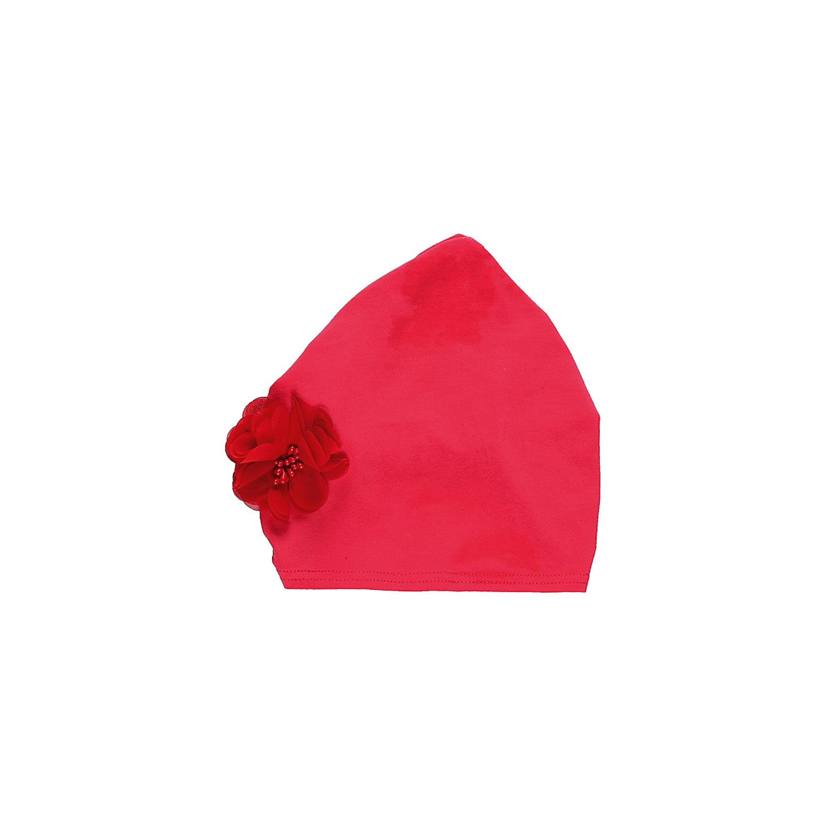 Повязка на голову для девочки Sweet BerryГоловные уборы<br>Косынка на девочку, из тонкого трикотажа, декорирована шифоновым цветком.<br>Состав:<br>100% хлопок<br><br>Ширина мм: 89<br>Глубина мм: 117<br>Высота мм: 44<br>Вес г: 155<br>Цвет: розовый<br>Возраст от месяцев: 48<br>Возраст до месяцев: 60<br>Пол: Женский<br>Возраст: Детский<br>Размер: 52,50,54<br>SKU: 4521286