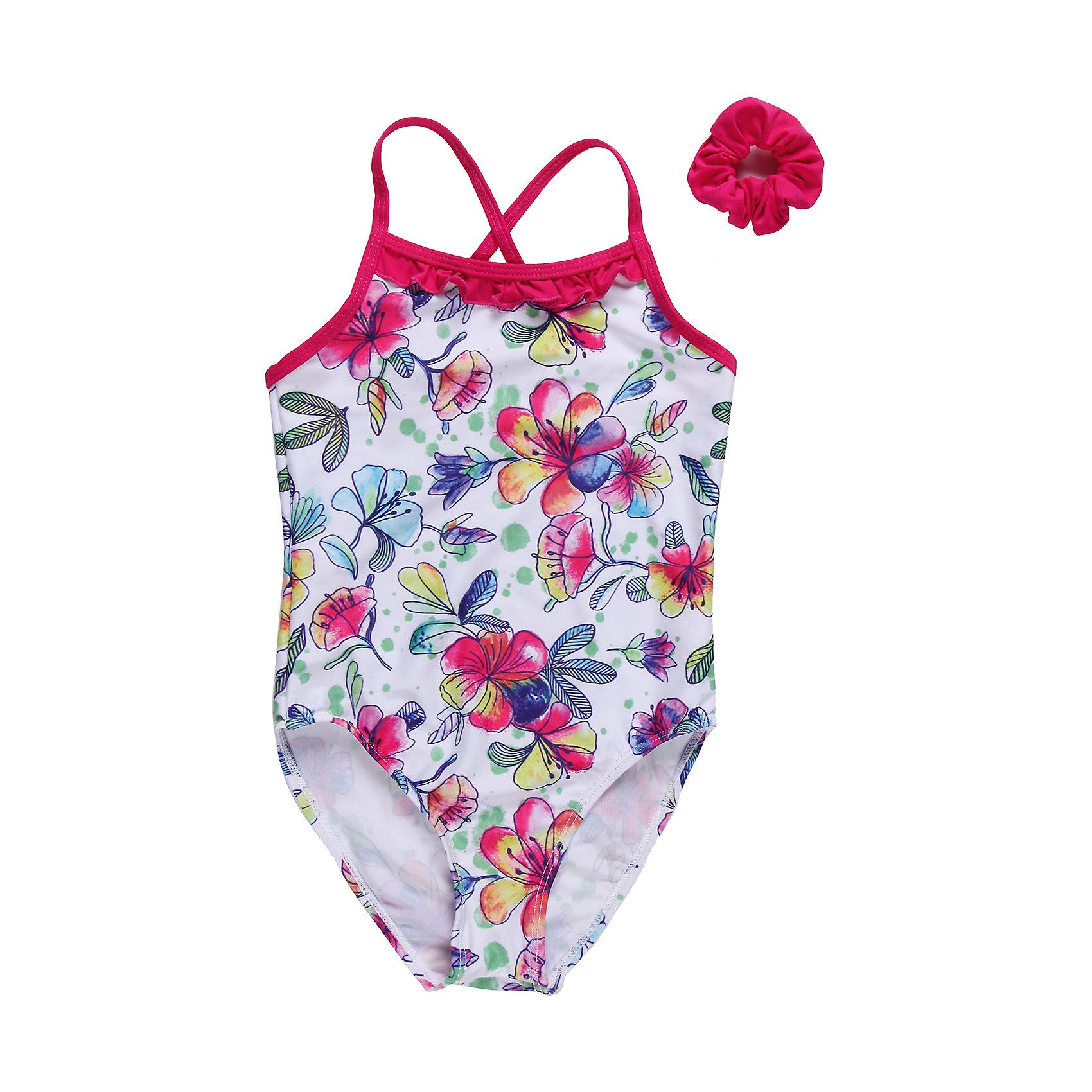 Купальник для девочки Sweet BerryЯркий слитный купальник для девочки, с оригинальным цветочным принтом, отделка из ткани контрастного цвета.<br>Состав:<br>85% нейлон    15% эластан<br><br>Ширина мм: 183<br>Глубина мм: 60<br>Высота мм: 135<br>Вес г: 119<br>Цвет: разноцветный<br>Возраст от месяцев: 36<br>Возраст до месяцев: 48<br>Пол: Женский<br>Возраст: Детский<br>Размер: 116,98,140,128,110,104<br>SKU: 4521297