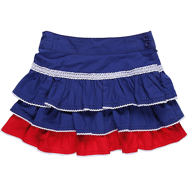 Юбка для девочки Sweet BerryЮбки<br>Хлопковая юбка для девочки, на кокетке с оборками, низы оборок обработаны декоративным швом контрастного цвета. Модель украшена ажурной тесьмой.<br>Состав:<br>100% хлопок<br>Ширина мм: 207; Глубина мм: 10; Высота мм: 189; Вес г: 183; Цвет: синий; Возраст от месяцев: 24; Возраст до месяцев: 36; Пол: Женский; Возраст: Детский; Размер: 98,116,104,110,122,128; SKU: 4521516;