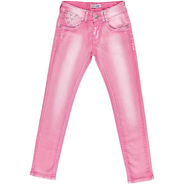 Джинсы для девочки LuminosoДжинсовая одежда<br>Розовые джинсы для девочки с регулировкой внутри по поясу.<br>Состав:<br>98% хлопок, 2% эластан<br>Ширина мм: 215; Глубина мм: 88; Высота мм: 191; Вес г: 336; Цвет: розовый; Возраст от месяцев: 132; Возраст до месяцев: 144; Пол: Женский; Возраст: Детский; Размер: 134,140,164,152,158,146; SKU: 4521667;