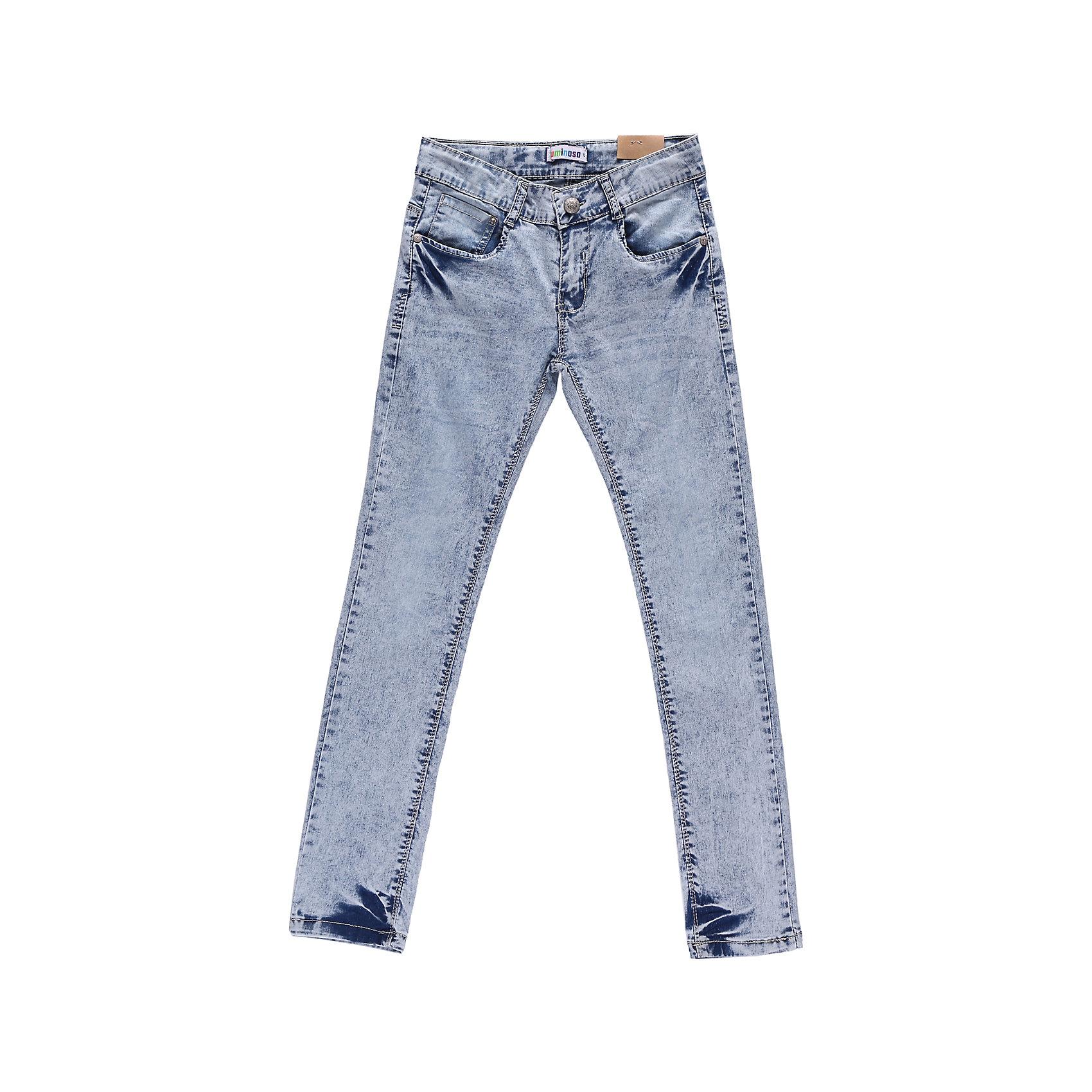 Джинсы для девочки LuminosoДжинсовая одежда<br>Джинсы из светлой джинсы.<br>Состав:<br>98% хлопок, 2% эластан<br><br>Ширина мм: 215<br>Глубина мм: 88<br>Высота мм: 191<br>Вес г: 336<br>Цвет: голубой<br>Возраст от месяцев: 156<br>Возраст до месяцев: 168<br>Пол: Женский<br>Возраст: Детский<br>Размер: 164,146,140,152,134,158<br>SKU: 4521695