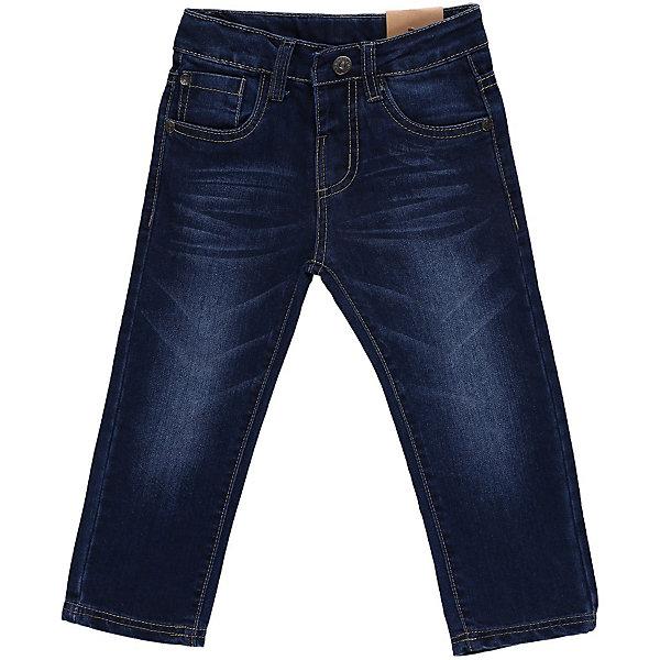 Джинсы для мальчика Sweet BerryДжинсовая одежда<br>Джинсы с модными потёртостями. С регулировкой внутри на поясе.<br>Состав:<br>100% хлопок<br><br>Ширина мм: 215<br>Глубина мм: 88<br>Высота мм: 191<br>Вес г: 336<br>Цвет: синий<br>Возраст от месяцев: 9<br>Возраст до месяцев: 12<br>Пол: Мужской<br>Возраст: Детский<br>Размер: 80,98,86,92<br>SKU: 4522069