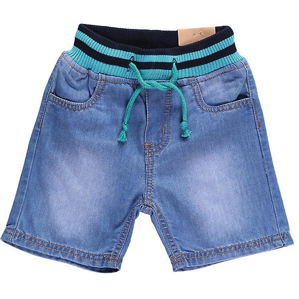 Шорты джинсовые для мальчика Sweet BerryШорты и бриджи<br>Джинсовые шорты на резинке с регулировкой шнурком по поясу<br>Состав:<br>100% хлопок<br><br>Ширина мм: 191<br>Глубина мм: 10<br>Высота мм: 175<br>Вес г: 273<br>Цвет: синий<br>Возраст от месяцев: 9<br>Возраст до месяцев: 12<br>Пол: Мужской<br>Возраст: Детский<br>Размер: 80,98,86,92<br>SKU: 4522134