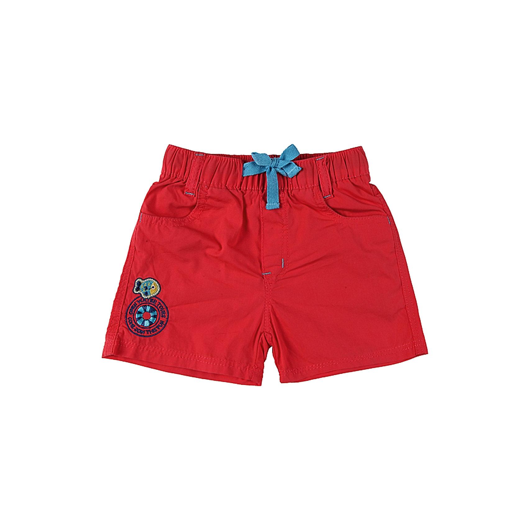 Шорты для мальчика Sweet BerryТекстильные шорты на резинке украшенные шевронами<br>Состав:<br>100% хлопок<br><br>Ширина мм: 191<br>Глубина мм: 10<br>Высота мм: 175<br>Вес г: 273<br>Цвет: красный<br>Возраст от месяцев: 9<br>Возраст до месяцев: 12<br>Пол: Мужской<br>Возраст: Детский<br>Размер: 80,98,92,86<br>SKU: 4522179