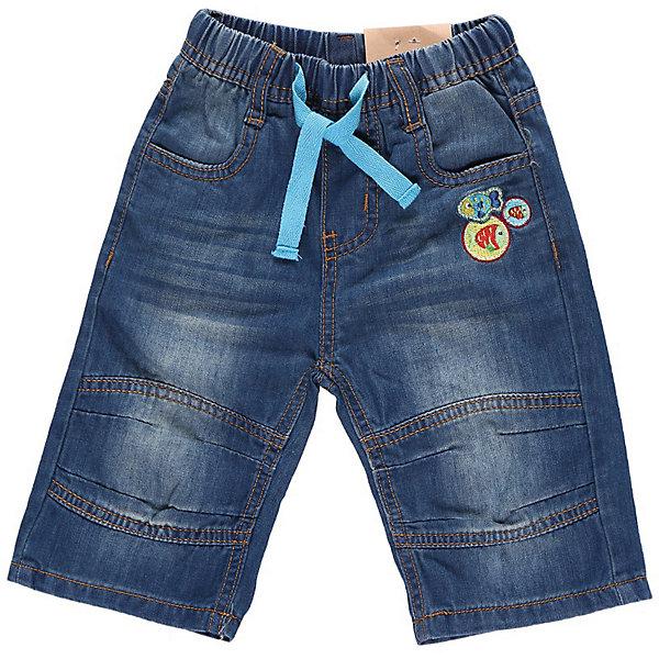 Бриджи джинсовые для мальчика Sweet BerryШорты, бриджи, капри<br>Джинсовые бриджи на резинке, украшенные шевронами.<br>Состав:<br>100% хлопок<br><br>Ширина мм: 191<br>Глубина мм: 10<br>Высота мм: 175<br>Вес г: 273<br>Цвет: синий<br>Возраст от месяцев: 12<br>Возраст до месяцев: 18<br>Пол: Мужской<br>Возраст: Детский<br>Размер: 86,92,98,80<br>SKU: 4522184