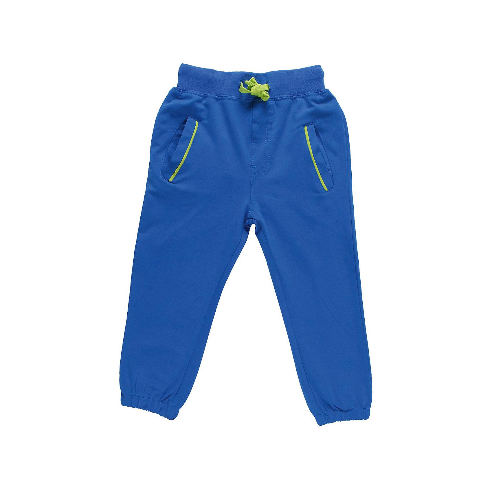 Брюки для мальчика Sweet BerryСпортивные брюки для мальчика. Эластичный пояс с внутренней резинкой, с дополнительным хлопковым шнурком.<br>Состав:<br>95% хлопок 5% эластан<br><br>Ширина мм: 215<br>Глубина мм: 88<br>Высота мм: 191<br>Вес г: 336<br>Цвет: синий<br>Возраст от месяцев: 12<br>Возраст до месяцев: 18<br>Пол: Мужской<br>Возраст: Детский<br>Размер: 86,98,92,80<br>SKU: 4522492